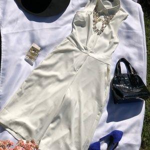 ASOS white jumpsuit